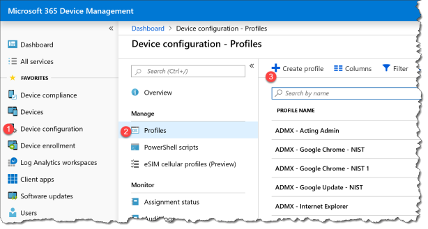 provisioning-csp-personalization intune - 01