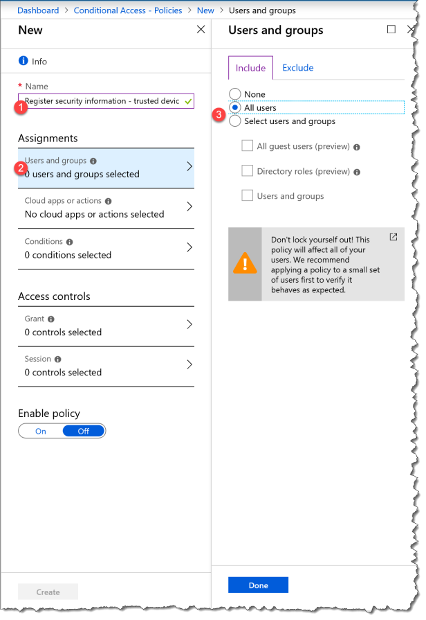 CA - Register security information - 01
