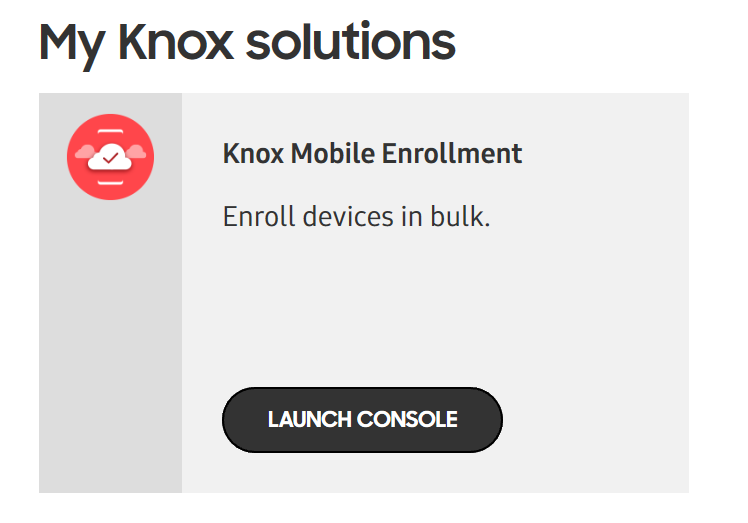 How to setup Samsung KNOX to enroll in Intune with Android