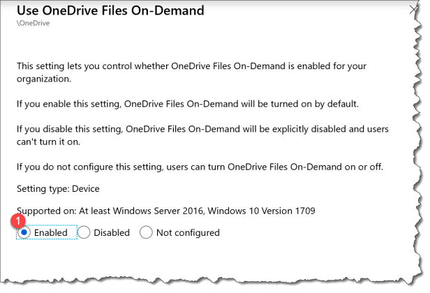 How to use ADMX based OneDrive policy in Intune for Known