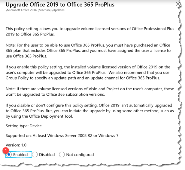 Upgrade Office 2019 to 365 - 3