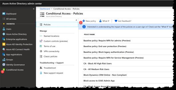 Conditional Access - Microsoft Search - 02