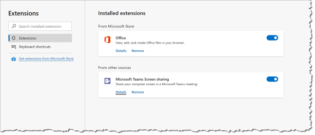 Mange Edge browser extensions with Intune - 00
