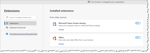Mange Edge browser extensions with Intune - 18