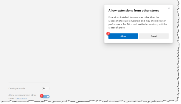Mange Edge browser extensions with Intune - chrome 00