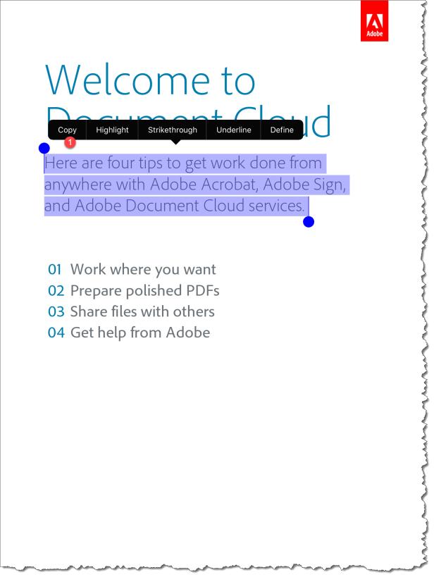 Adobe Reader IOS - UX - 09