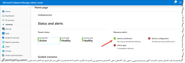 Mobile Device Management authority in Microsoft Intune - 00
