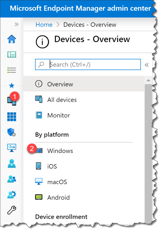 Change UI language Edge from Intune - 01