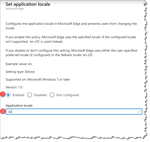 Change UI language Edge from Intune - 05