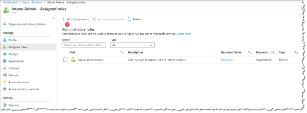 Policies for Office-apps in Intune - 03