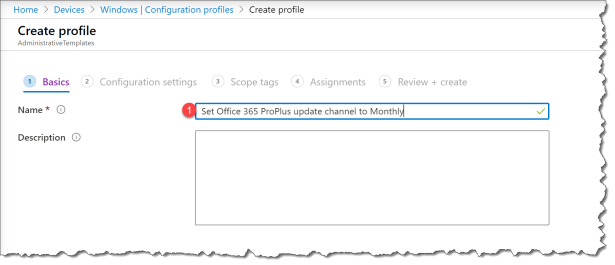 Change Offie 365 Channel from Intune ADMX - 03