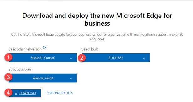 Deploy Edge without Desktop Icon - 01